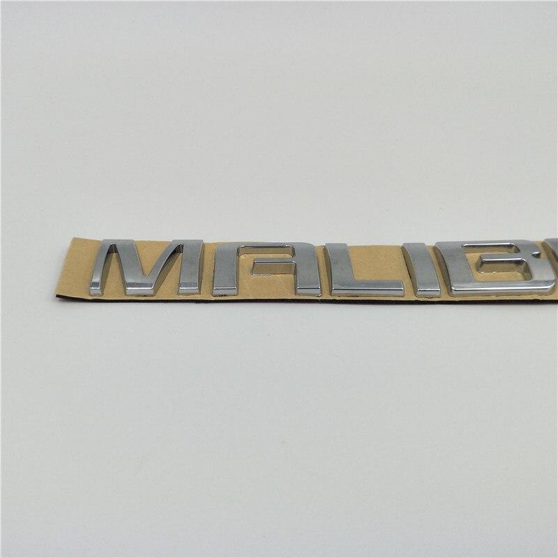 1pcs Chevrolet lettering LOGO EMBLEM BADGE STICKER  script steel METAL