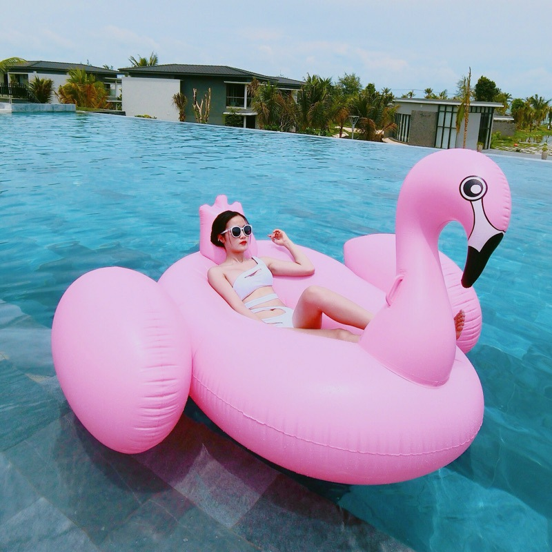 New Summer Holiday Inflatable Pool Toy 2.7*1.4*1.2M White Inflatable Unicorn Pegasus Water Floats Raft Air Mattress giant inflatable banana ride on swimming pool floats summer adult kids floating island fun water toy party air mattress piscina