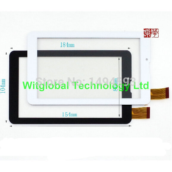 Witblue New For 7 Oysters T72X 3g / SUPRA M72KG 3G Tablet Touch panel Glass FHF070076 Touch Screen Digitizer Sensor Replacement 7inch digma optima 7 77 3g tt7078mg dx0070 070a for oysters t72x 3g tablet capacitive touch screen panel digitizer glass sensor