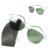 2016 marca titanium marco sin montura gafas de sol polarizadas hombres súper ligero nv de conducción espejo gafas de sol de diseñador de gafas de sol del deporte
