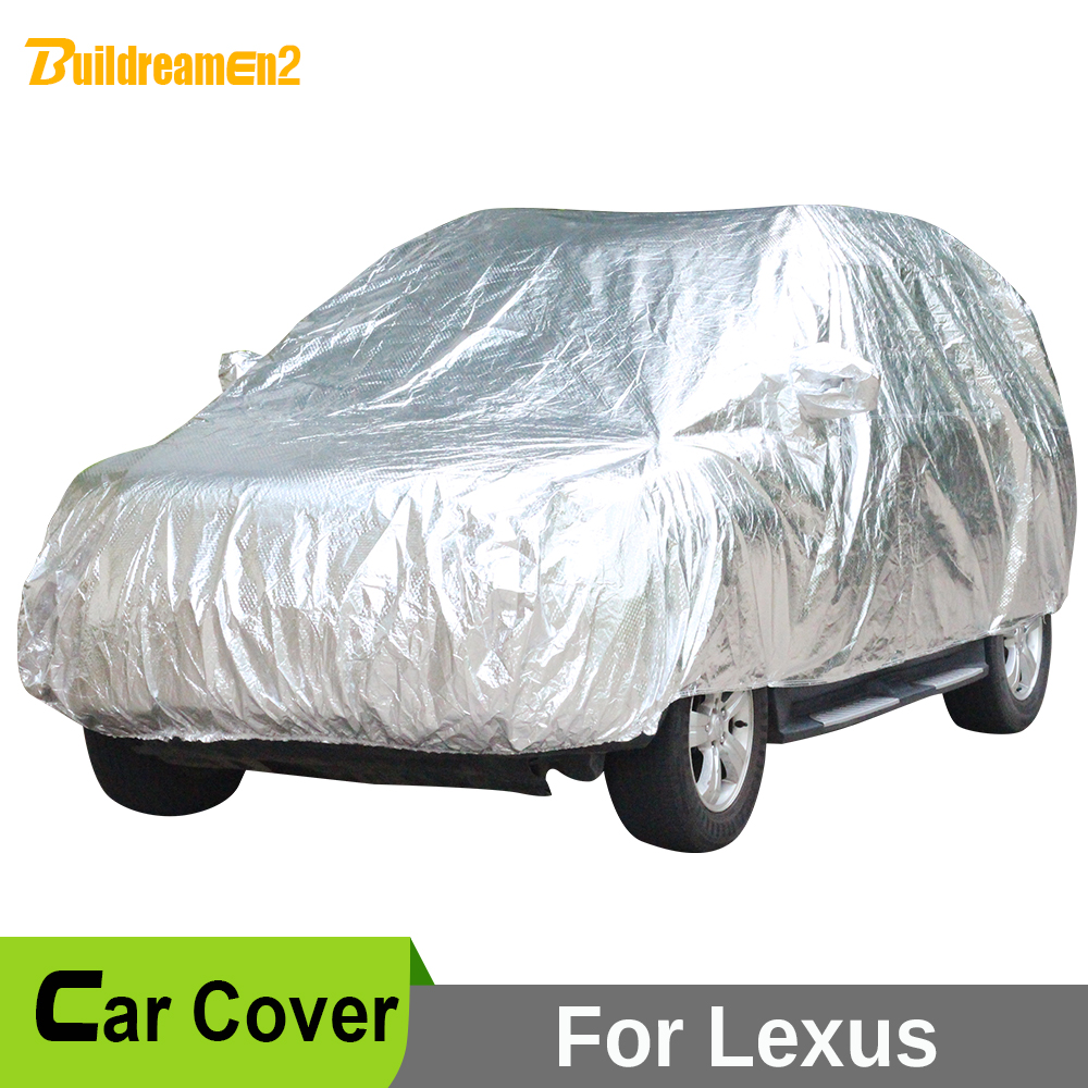 Buildreamen2 Waterproof Car Cover Anti UV Sun Snow Hail Rain Resistant Outdoor Car Covers For Lexus GX460 GX470 NX200t NX300h buildreamen2 car cover waterproof suv anti uv sun shield snow hail rain dust protective cover for gmc terrain acadia envoy yukon