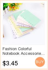 notebook organizer Stop118 Macaron 4