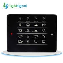 Умный дом сенсорный настенный выключатель дистанционного управления 64 способа лампы в 16 комнатах