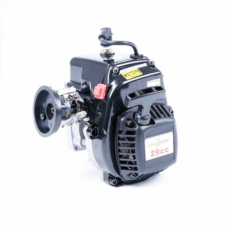 RC Gas Car PARTS BAJA 4 Bolt 29CC Engines for 1/5 HPI ROVAN KM BAJA 5B 5T 5SC LOSI 5TIVE T 5T DBXL FG Buggy Redcat