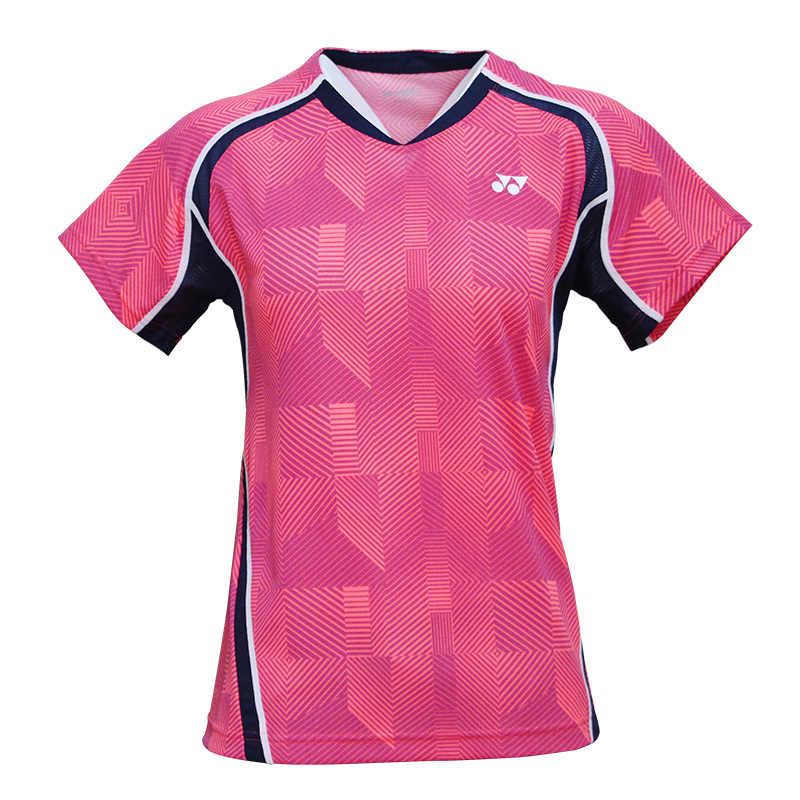 2019 Yonex Badminton Women T-shirts Breathable Comfort Quick Dry Female Fitness Competition Short Sleeve tennis Sports T-shirt