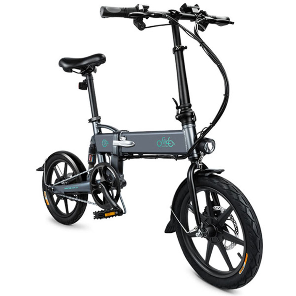 FIIDO D2 Mini Folding Electric Bike Smart Folding Bike Electric Moped Bicycle 7.8Ah Battery with Double Disc Brakes battery car brakes