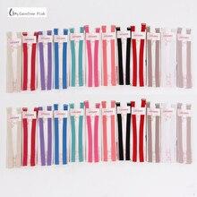 1 5cm Candy color double shoulder adjustable shoulder strap pectoral girdle neon color elastic bra strap