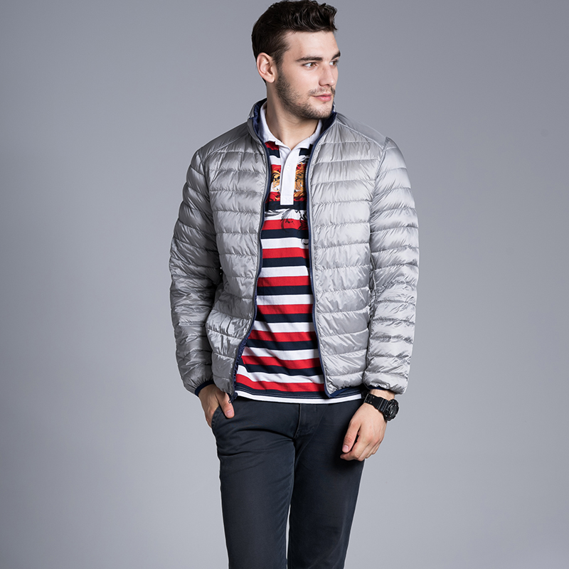 Mens Thin Down Jacket - JacketIn