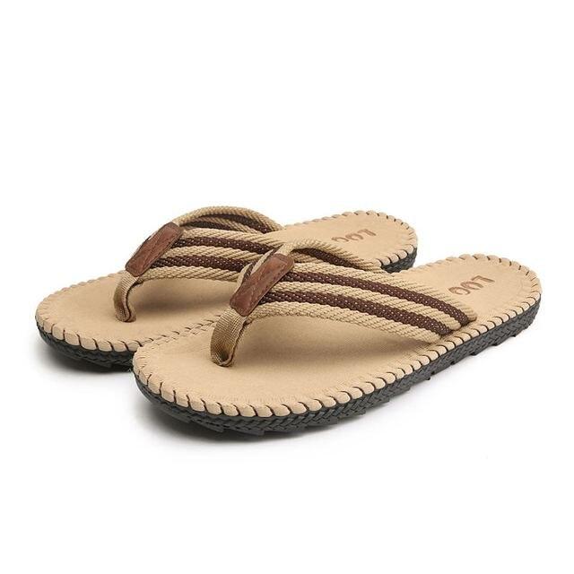 LAISUMK 4 ألوان صنادل شاطئ حذاء رجالي شبشب صيفي الوجه يتخبط الرجال الصنادل حجم كبير 45 Sandalias Hombre Chausson أوم 3