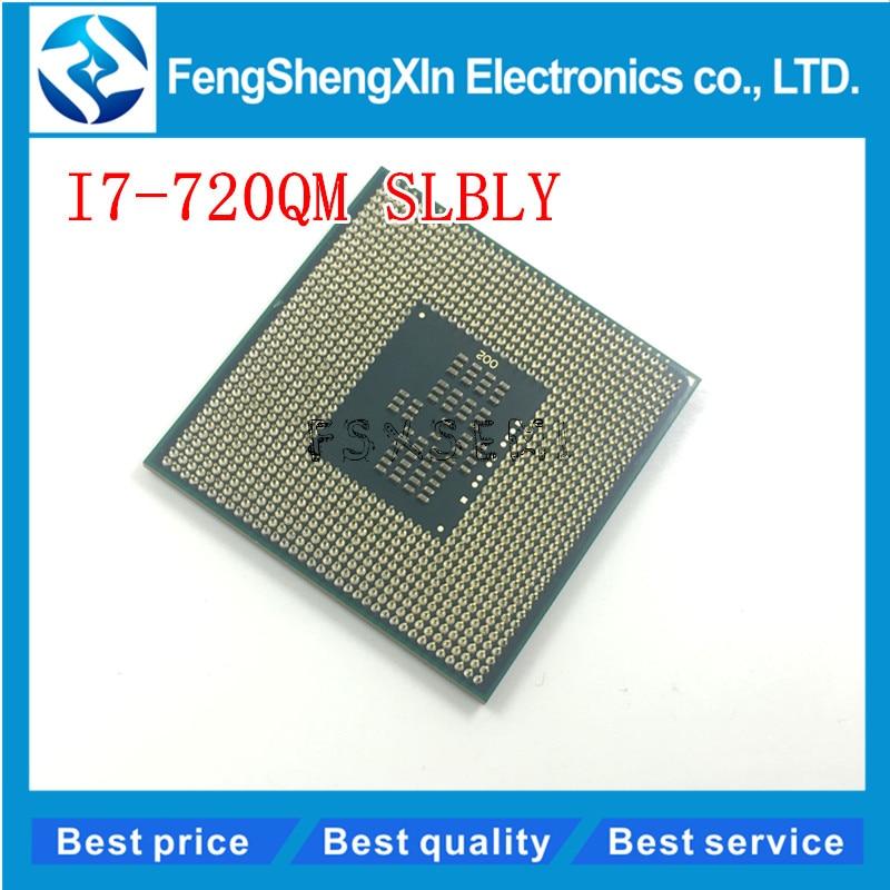 I7-720QM CPU SLBLY 6 M Cache 1.6 GHz à 2.8 GHz i7 720QM PGA988 45 W Ordinateur Portable Compatible PM55 HM57 HM55 QM57