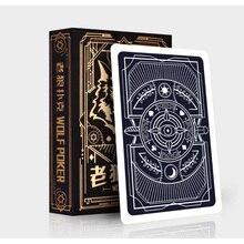 54pcs youpin 3A פוקר קלפי משחק סט קלאסי פלסטיק קסם עמיד 57mm * 87mm כרטיסי עבור משחקים