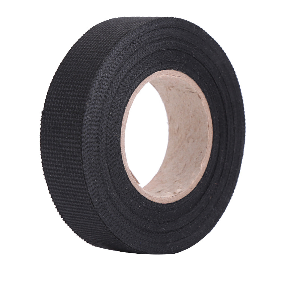 Multipurpose Car Self Adhesive Anti Squeak Rattle Felt Automotive Wiring Loom Tape Harness 19mm X15m Flannel Fabric Cloth In Plastic Rubber Care From