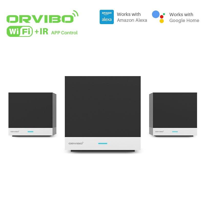 Orvibo Magique Cube Xiaofang WIFI IR À Distance Contrôleur Fonctionne Avec Amazon Alexa et Google Maison Pour Smart Home Automation Syestem