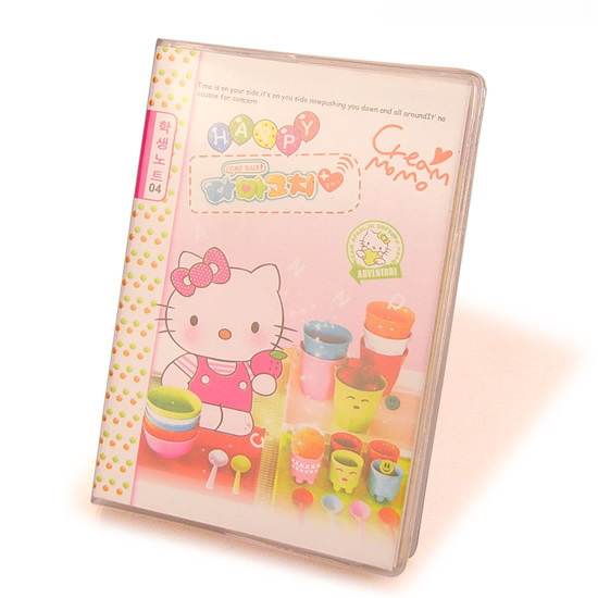 Free shipping 20 pcs/lot, Wholesale cartoon notepad Super cute Hello kitty diary book Kids notebook Mini notepad About 50 sheets