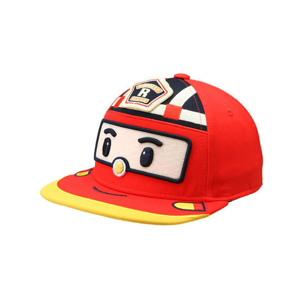 Robocar Poli Baseball Cap Snapback Hat Child Cartoon Pororo Robot Car Visor Hat Transformation 5 Panel Gorras Bone Kids Boy Girl