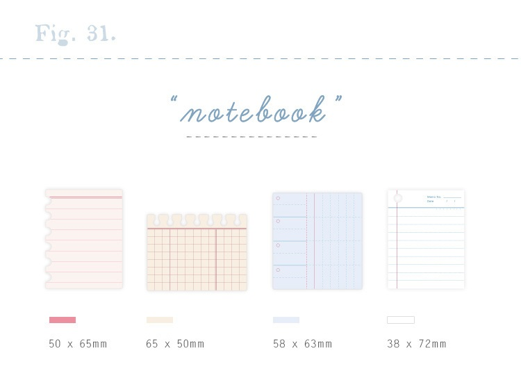 Memo Pads 4 Pcs Notebook Sticker Memo Pad Sticky Notes Diary Book Todo List Agenda Planner Post Stationery Office School Supplies F950