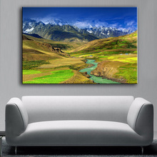 Sunny Valley Wall Picture