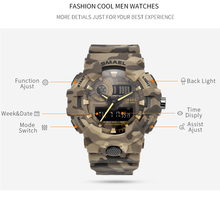 New Camouflage Military men Watch
