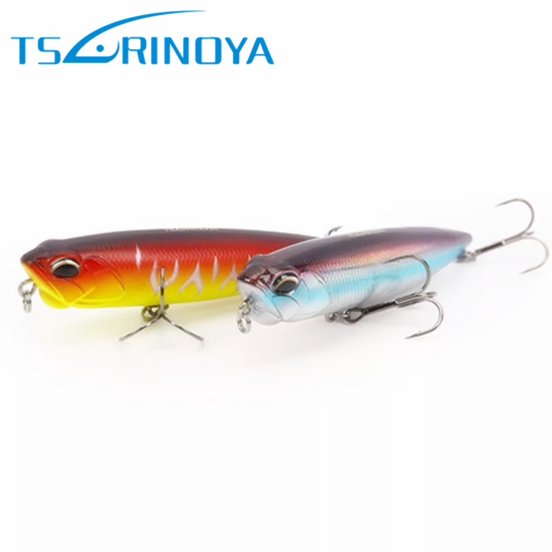 TSURINOYA Long Distance Throwing Top water Pencil 110mm/21g Fishing Lure Snakehead Lure Iscas Artificial Pesca Leurre Wobblers