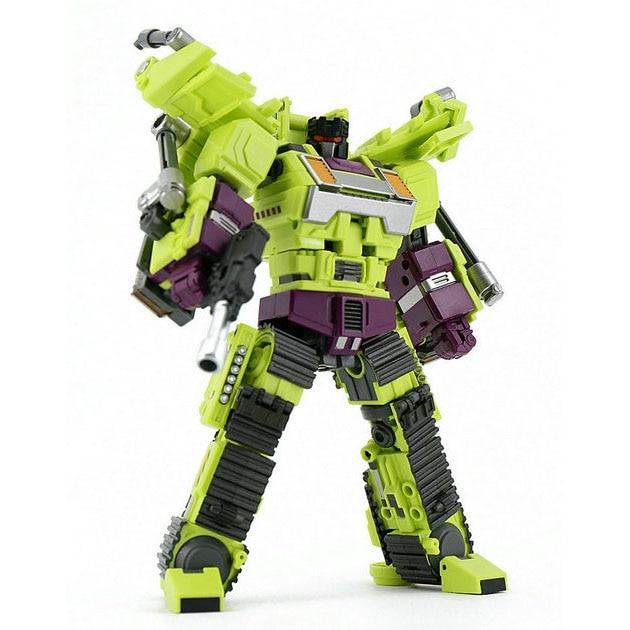 (IN STOCK) Toy Generation Toy GT-01D Gravity Builder Devastator Bonecrusher Bulldozer