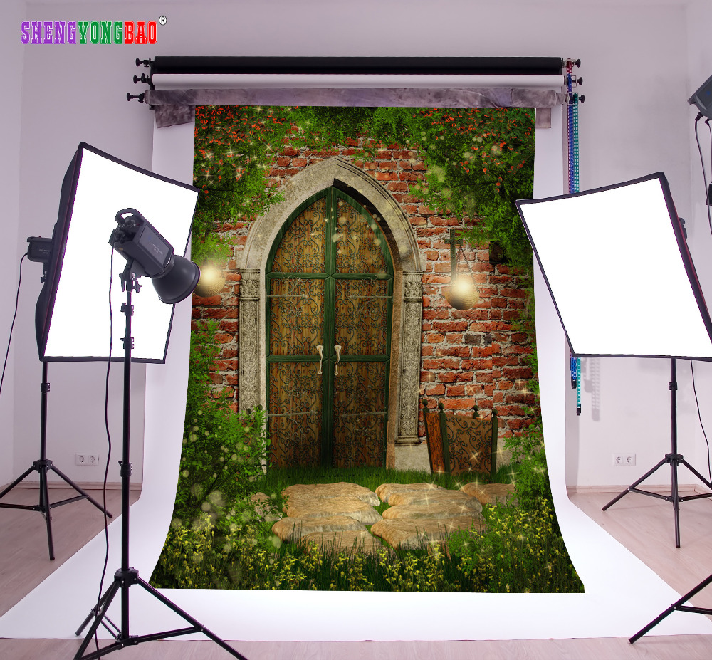 SHENGYONGBAO Arte Pano Fotografia Personalizado Backdrops Prop Photo Studio Digital Impresso tema conto de Fadas Fundo NTHU-338