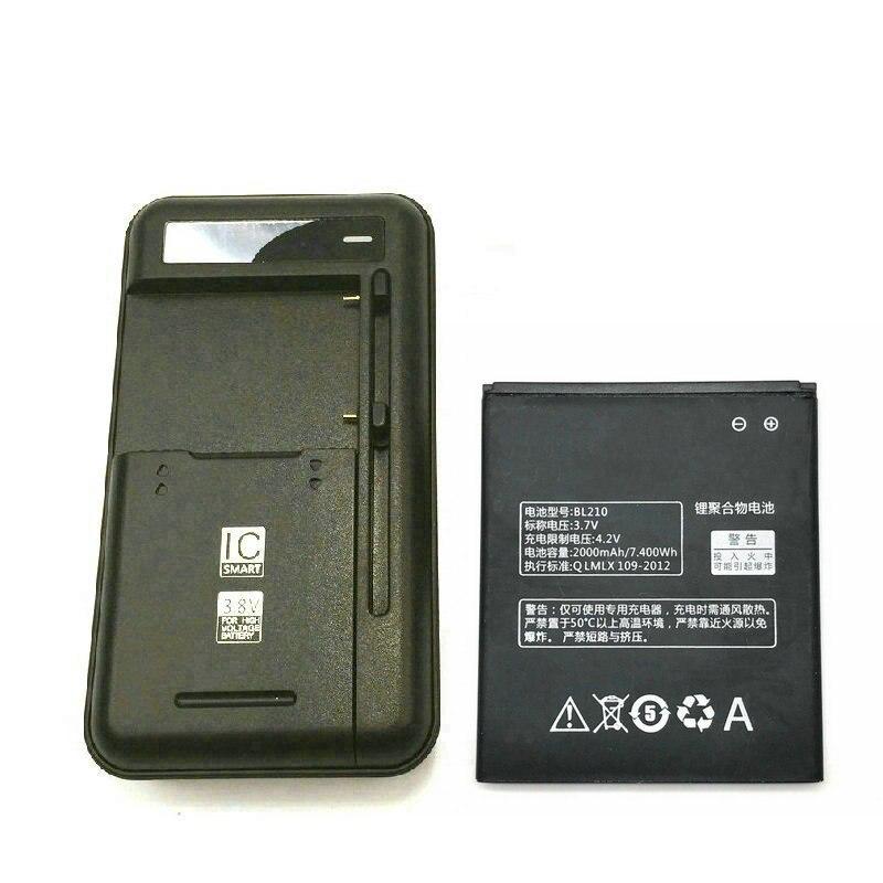 Универсальное зарядное устройство BL210 2000 мАч, 1 шт., для Lenovo S820 S650 A536 A606 S820E A750E A656 A766 S650 S658T