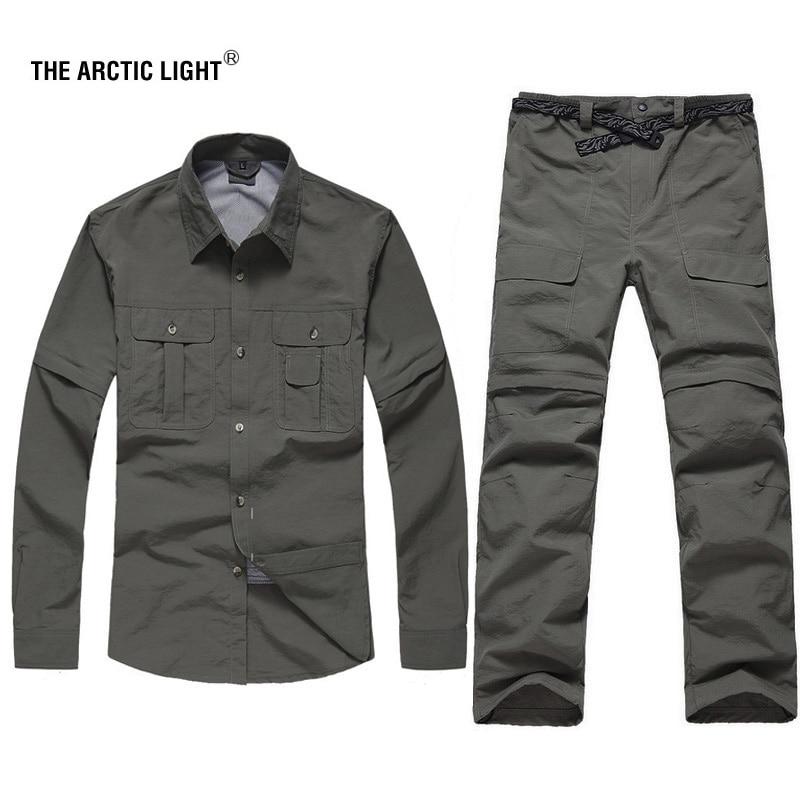 ARCTIC LIGHT Trekking Camping Outdoorové košile Kalhoty Odolné - Sportovní oblečení a doplňky