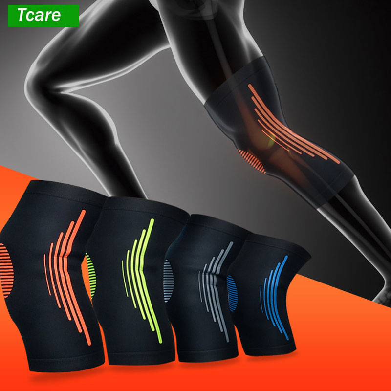 1Pcs Compression Knee Sleeve Breathable Knee Support Brace for Running Basketball Squats Weightlifting Arthritis and Meniscus 4