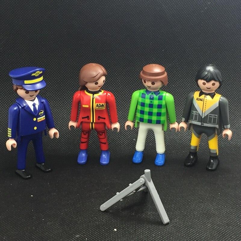 10 стилей 7.5 см Детская Ферма от playmobil пони и Конный экипаж взять с собой современный дом куклы дети подарок игрушки