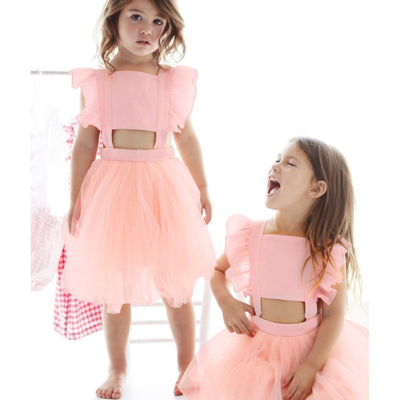 2018 Formal Toddler Girl Party dress for Girls Clothes Kids Dresses Baby Girls Summer Princess Wedding Tutu Dress Children Cloth