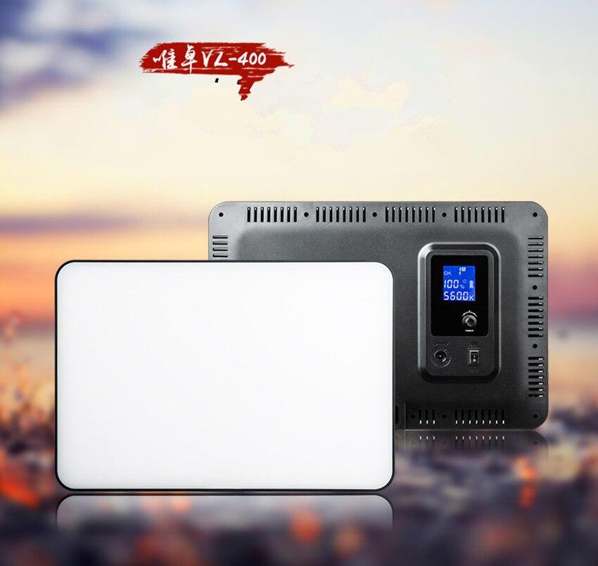 new VILTROX VL 400 Super slim Bi color 3300 5600K Wireless Remote LED Video Light for