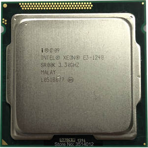 Intel E3-1240 E3 1240 3.3 GHz 8 M 80 W Quad-Core CPU Processor