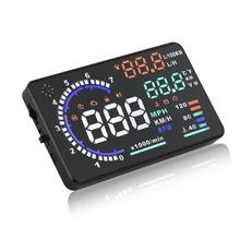 5.5 inch A8 High Definition HUD Head-up Display OBD2 EUOBD Projector