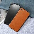 Kisscase estojo de couro de luxo para o iphone 7 7 plus ultra slim cobertura fashion caso de volta de proteção para apple 7 7 além de coque Shell