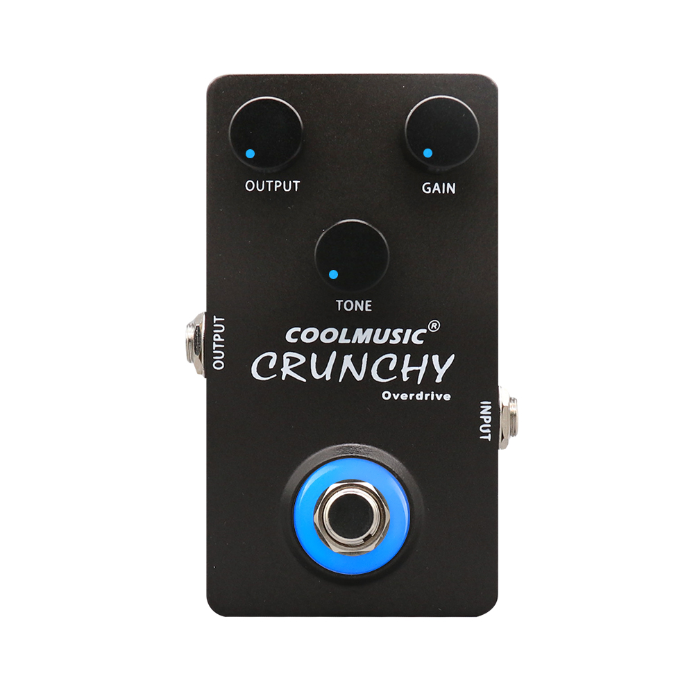 Coolmusic 9V Overdrive Pedal Bass Guitar Effect PedalCoolmusic 9V Overdrive Pedal Bass Guitar Effect Pedal