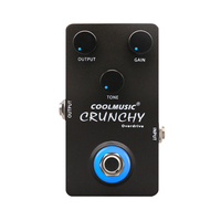 Coolmusic 9V Overdrive Pedal Bass Guitar Effect Pedal