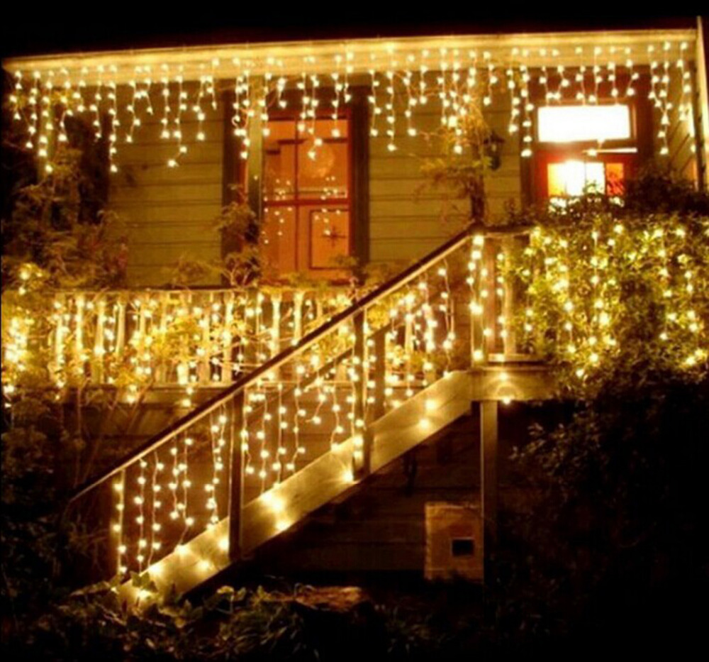 Curtain lights for weddings - 6 3m Curtain Lights 600led Curtain Fairy String Light Indoor Starry Light For