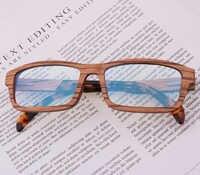 Blue Light Blocking Glasses for Computer Wood Eyeglass Frame Gafas Lentes Para Computadora GB116