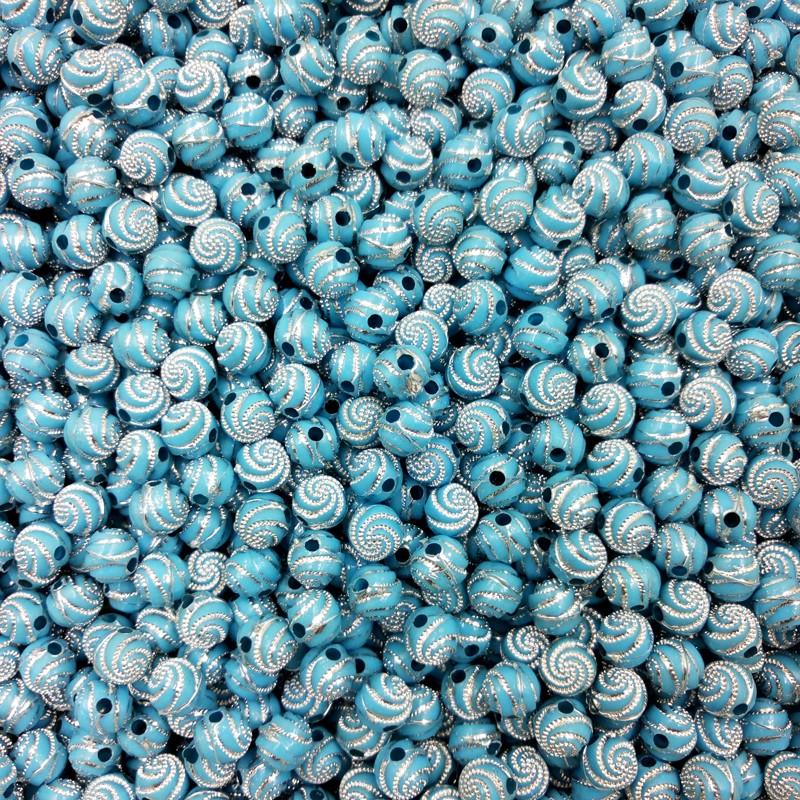 lnrrabc 8 мм 100 шт. / лот 8 мм винт блестящие акриловые круглый шар распорку потерять бусы для фуршета браслет ожерелье ювелирные изделия решений