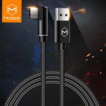 Mcdodo 5A rápido de carga de Cable USB tipo C a USB Cable cargador para Samsung Galaxy S8 + para HUAWEI Oneplus cable usb Cable
