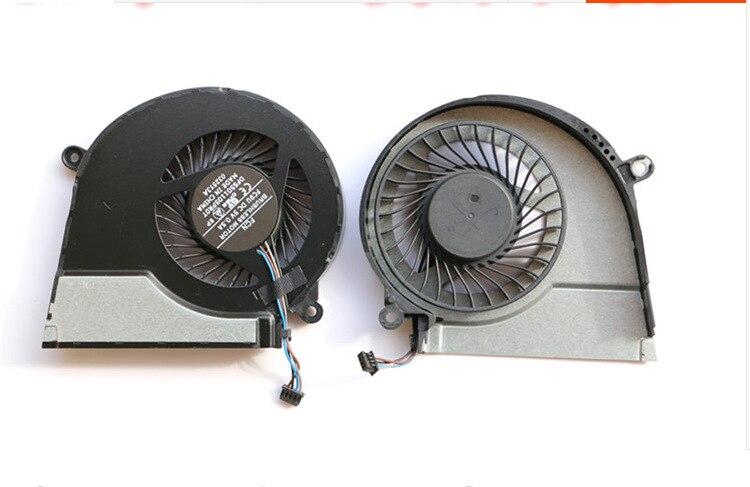 Ordinateur portable CPU ventilateur pour HP Pavilion 15 PAVILLON 17 724870-001 725684-001 ordinateur portable ventilateur cpu ventilateur de refroidissement refroidisseur DFS501105PR0T FC9U