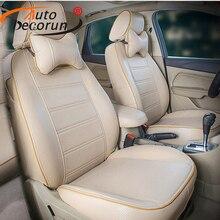 Autodecorun посвященный кожаный чехол автокресло для Mercedes Benz r350 R300 R500 r320 сиденье автомобиля включает наборы наволочки поддерживает