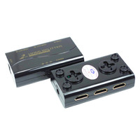 CKL HD 92M 1 2 2 Port HDMI Splitter Support 1 4V 3D 1080P For PC