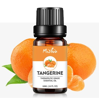 natural aromatherapy Tangerine essential oil Soothing and relaxing Evolutional air Tangerine oil oil aromatherapy massage oil akarz famous brand natural aromatherapy basil oil improve spirit stabilization effect firming oil balance basil essential oil
