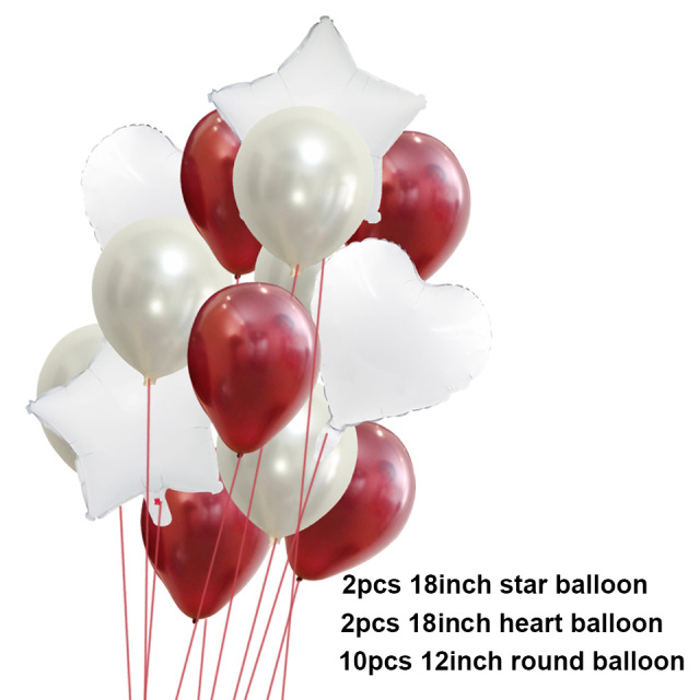 14szt 12inch 18 cali Multi Air balony szczęśliwy urodziny party helu balon dekoracje ślub Festiwal balon party dostaw tanie i dobre opinie Dom DIY Piłkę CH1560-14szt Lateks Okrągły serce Wedding Engagement Christening Baptism Grand Event Gender Reveal Birthday Party House Moving Children s Day Chinese New Year Father s Day Thanksgiving Party Christmas Valentine s Day Wedding Halloween Easter New Year Graduation Anniversary Mother s Da