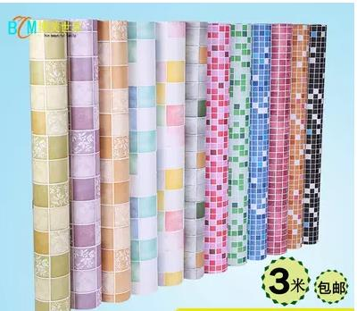 The Kitchen Oil Stickers Mosaic Sticky Wallpaper From Bathroom Toilet High Temperature Ceramic Tile