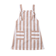 Toddler Baby Girl Dresses Summer Ruffle Party Dress Girls Princess Dress Striped Costume For Girls Sundress Children Dresses girls ruffle detail striped dress