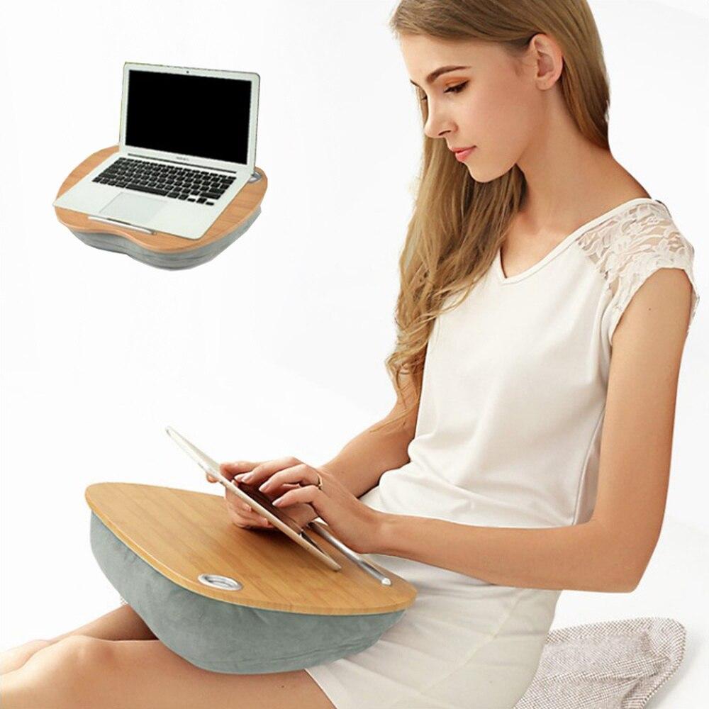 Table de lit créative mini portable ordinateur table oreiller multi-fonction cahier étudiant paresseux dortoir LM6011053py
