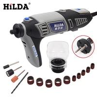 HILDA 220V 180W Dremel Style Rotary Tool For Dremel Accessories Electric Mini Drill With EU Plug