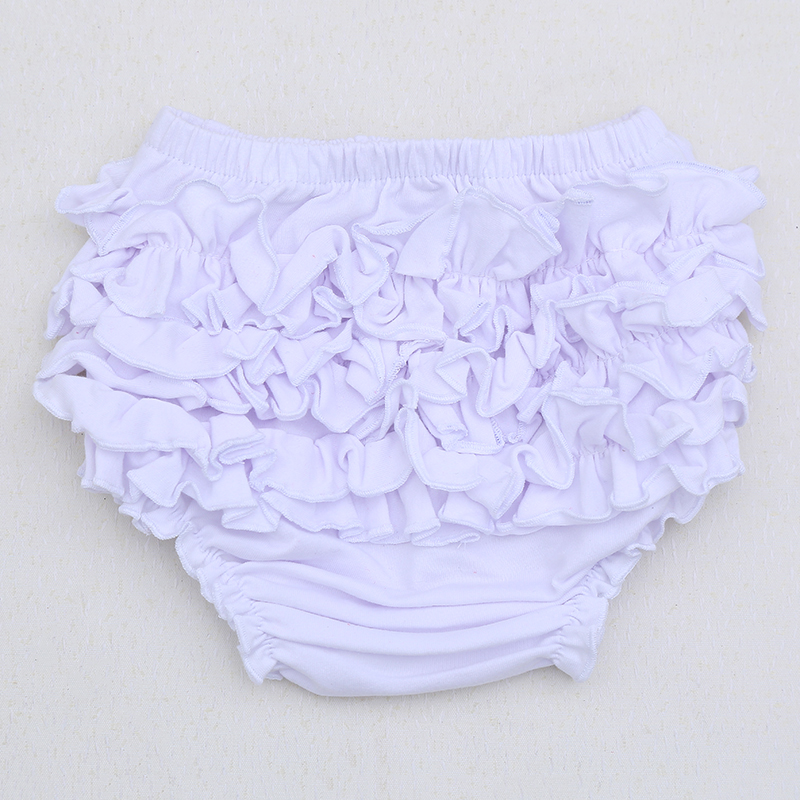 Baby Shorts Bloomers Infant Toddler Girls Boys Cotton Ruffle Pants Cute Kids Baby Diaper Cover Clothes Newborn Flower Shorts